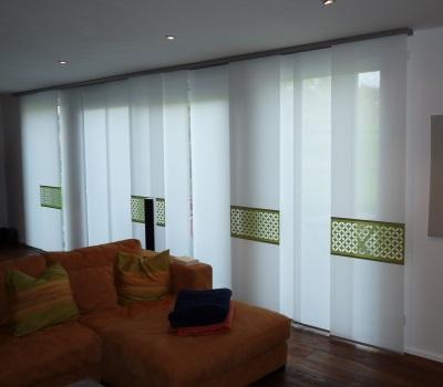 Deckenschiene Vorhang of blinds bieser raumaustattung